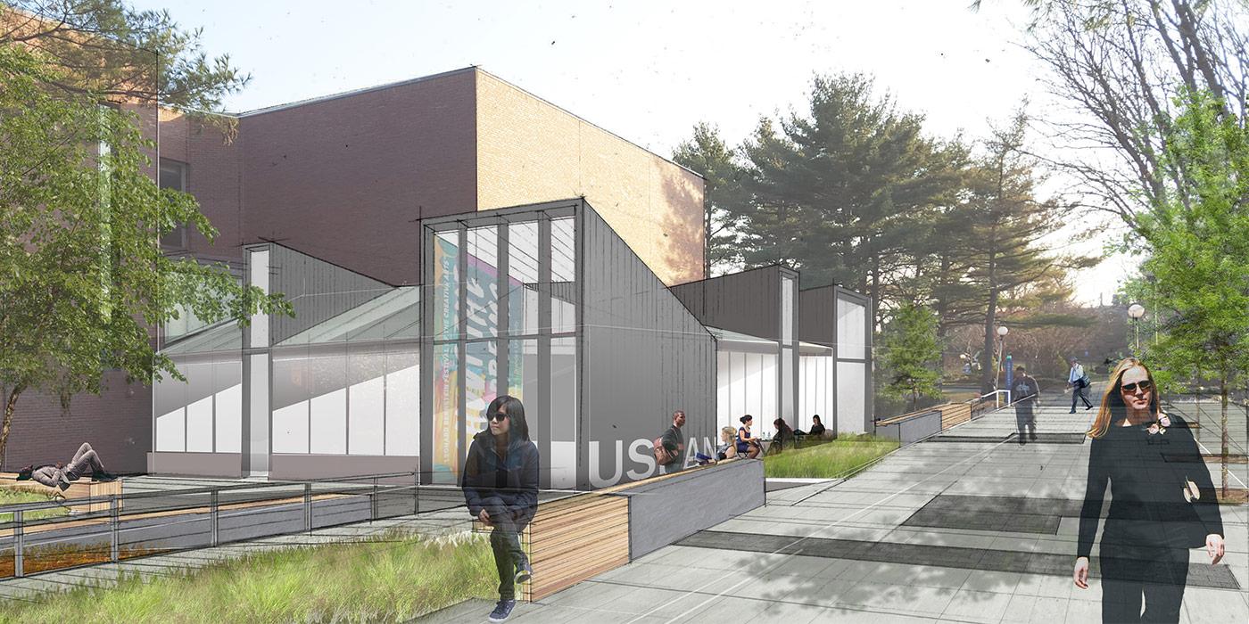 Usdan Student Center Feasibility Study