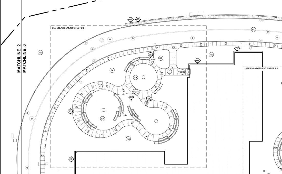 Studio 2112 construction plans